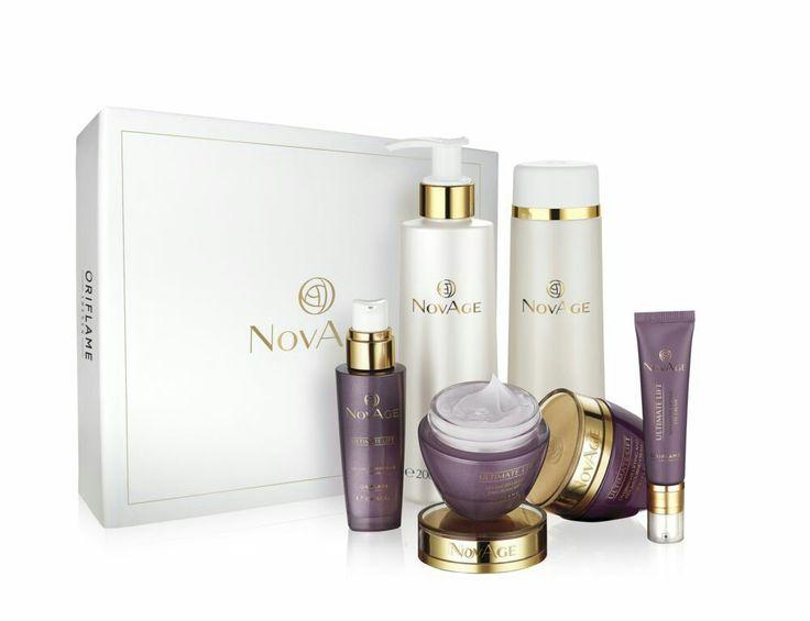 NovAge voor de beginnende rijdende huid (ongeveer 40 jaar)  helpt rimpels verminderen en geeft je huid een frisse uitstraling.