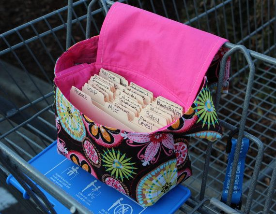 Coupon Organizer Bag -coupon purse Carnival so much prettier than the one i use