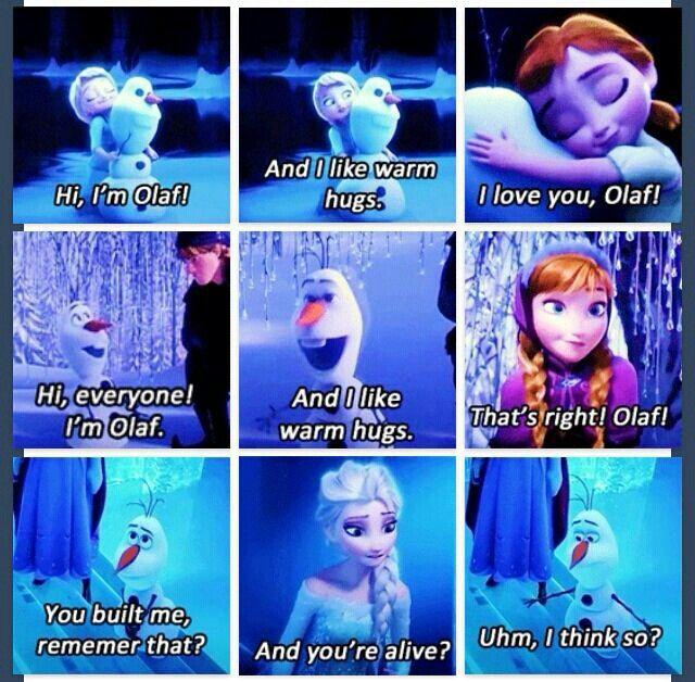 Olaf - Anna - Elsa - Frozen - Disney | Movies | Pinterest ...