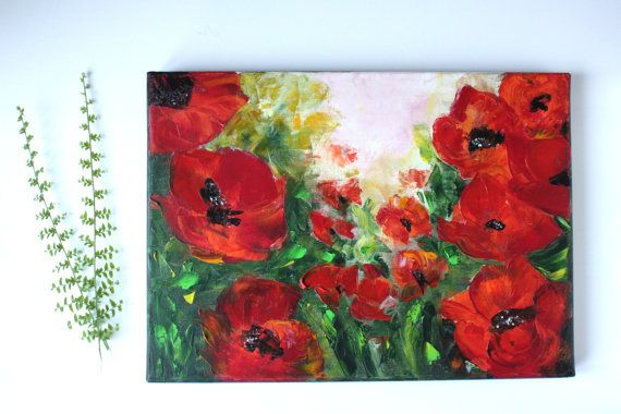 Poppies by BarbaraGallery on Etsy