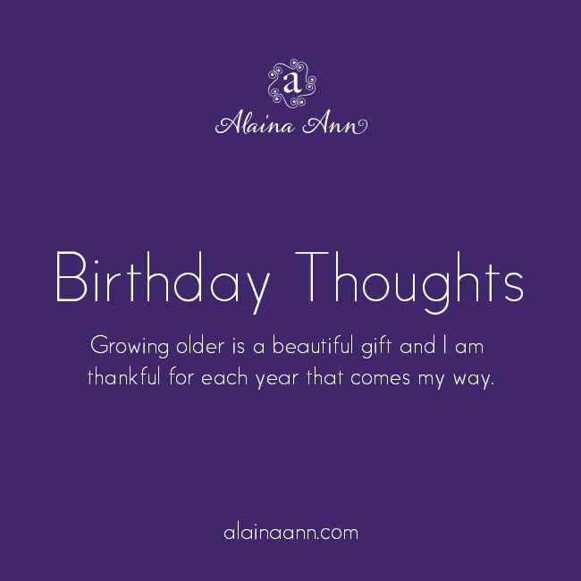 Quotes About Being 35 Years Old: Birthday Thoughts :: 34 Years