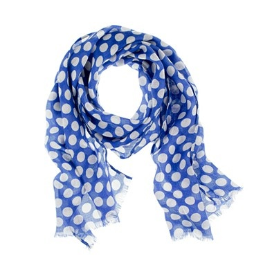 UK blue polka-dot scarfStyle, J Crew Polka Dots, Girls Polka, Scarves, Accessories, Jcrew Scarf, Polkadot Scarf, Blue Polka Dots, Polka Dots Scarf
