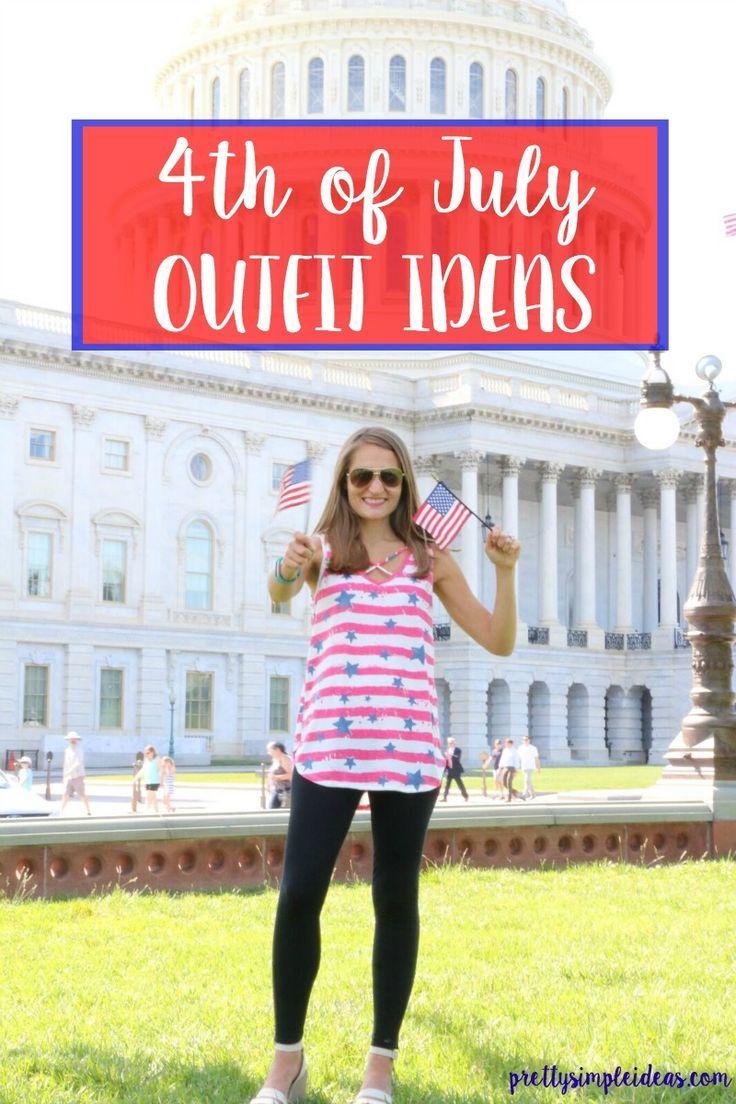 4. Juli Outfit-Ideen, um Amerika zu feiern