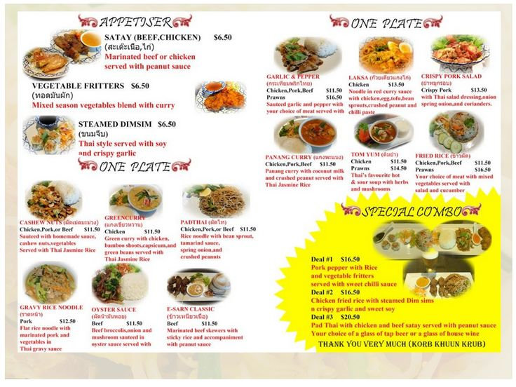 Discover Our Best Thai Chef Restaurant Lunch Menu at Attractive Price - ThaiChef.co.nz @ http://thaichef.co.nz/lunch-menu/