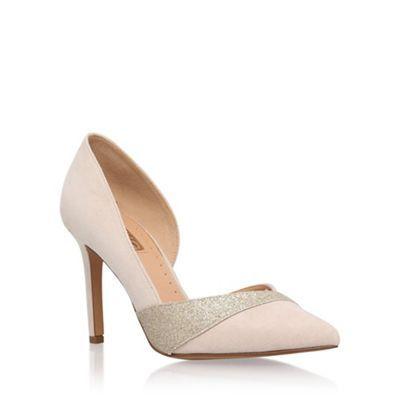 Miss KG Natural 'Cai' high heel court shoes | Debenhams