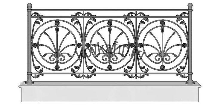 Эскизы кованых балконов | Кованые балконы с ажурными ограждениями