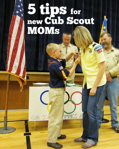 5 tips for new Cub Scout moms  #cubscouts  |  find joy in the journey