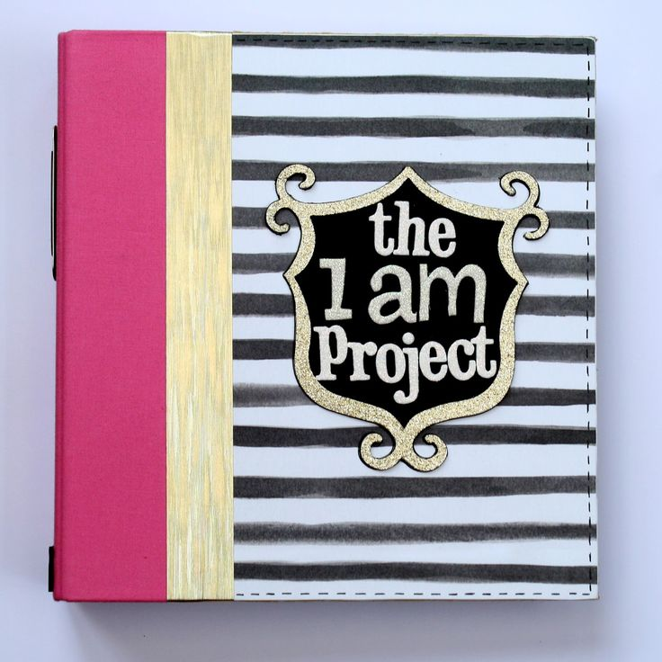 "Crafty Alchemy Blog: Introducing the ""I am Project"" Scrapbook"