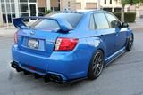 SUBARU REAR DIFFUSER 2011-2014 WRX/STI SEDAN MODELS ONLY
