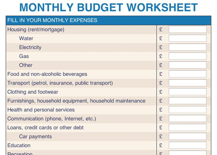 80 best Personal Finance Tips images on Pinterest Budget, Career - monthly expense calculator