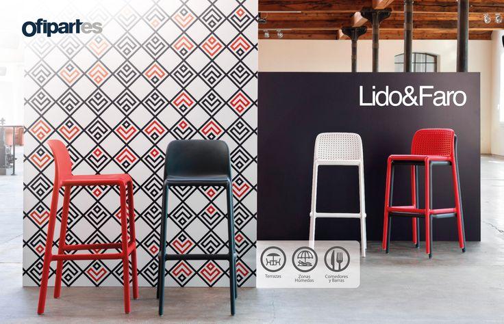 Lido y Faro: Línea de butacos desarrollados para ser el complemento perfecto de cocinas, comedores auxiliares, y barras, integrando el equilibrio perfecto entre diseño y funcionalidad.