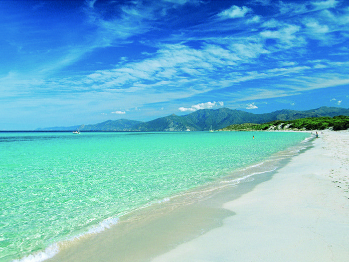 Sommer am Strand von Saleccia auf Korsika