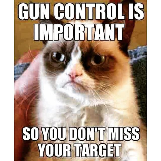 Grumpy cat knows best  #guns #control #grumpycat #saturday #countryrebel #countryrebelclothing
