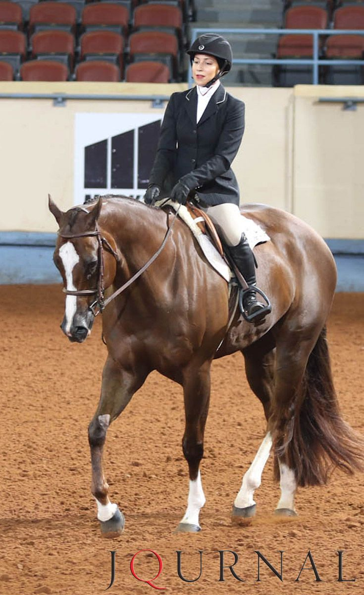 Amateur Hunt Seat Equitation I Cowboys R Hot and Paige Stopperich, 2016 AQHA world champion