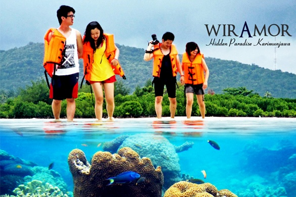 Special Price! 4D/3N Enjoy Unforgettable Holiday at Karimunjawa Island Only Rp 550.000,-