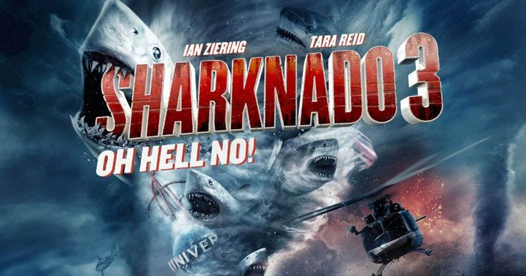 'Sharknado 3' Trailer Has Arrived! -- The shark-filled twister is tearing up the East Coast in the 'Sharknado 3: Oh Hell No!' trailer, which compares itself to classic trilogies. -- http://www.tvweb.com/news/sharknado-3-trailer-oh-hell-no