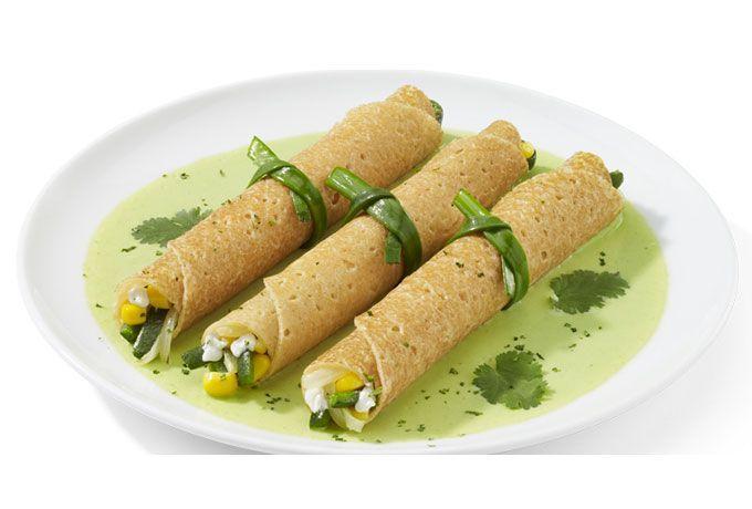 ¿No se te antojan unas deliciosas crepas de rajas y chile poblano hechas con queso crema Philadelphia? ¡Conoce nuestra receta y atrévete a probarlas!