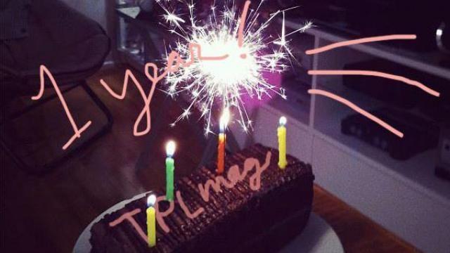 TPLmag turns 1! Happy Birthday to us!