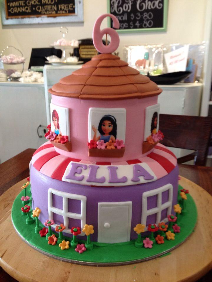 Fabulous Lego friends cake … | Birthday in 2018… &TS12