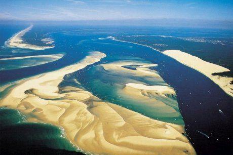 Presqu'île du Cap Ferret, Banc d'Arguin et Dune du Pilat