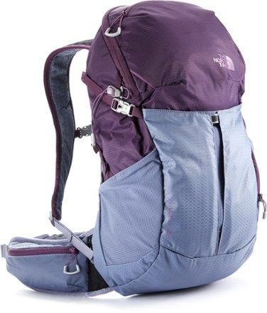The North Face Women's Aleia 22U Pack Blackberry Wine/Folkstone Gray XS/S