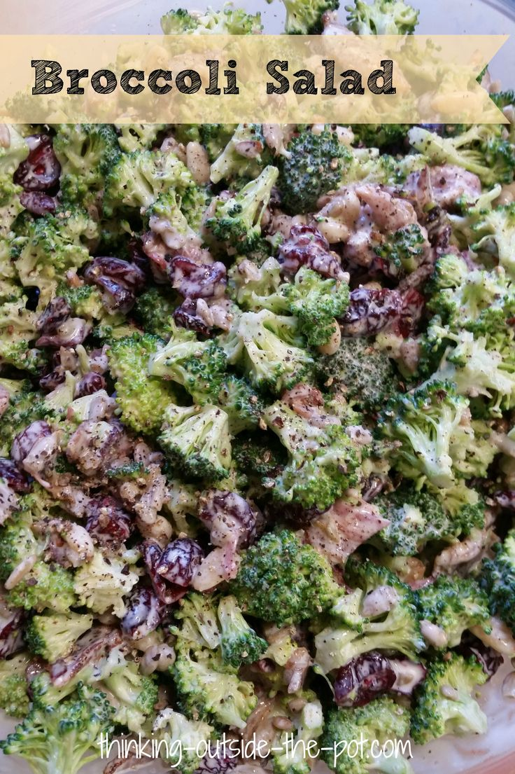 The best Broccoli Salad Ever! | !! Top Bloggers To Follow ...On ...