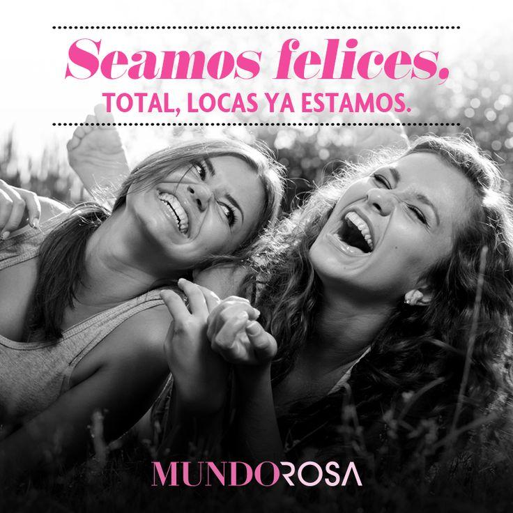 frases felicidad amigas locas https://www.facebook.com/MundoRosaMx