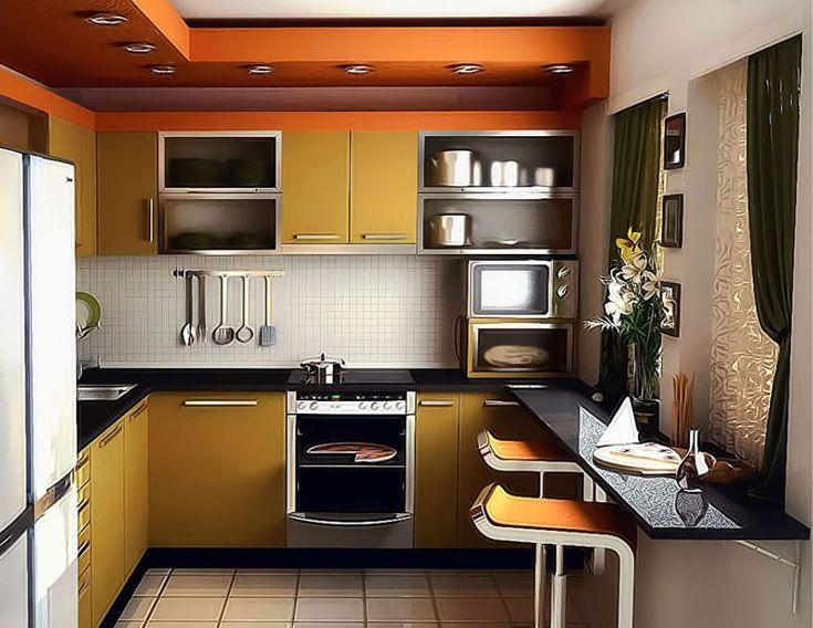BZCasa Magazine - http://mag.bzcasa.it/zoom/come-arredare-una-cucina-piccola-e-ottimizzare-lo-spazio-2771/
