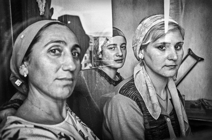 Picture of refugees from Chechnya