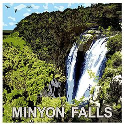 Minyon Falls, Northern Rivers, NSW A breathtaking place of natural beauty. Great views, walking, serenity, soundscapes. The waters of Repentance Creek cascade 104 metres down into the sub-tropical rainforest gully below.