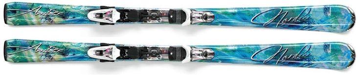 Narty 2012/13 NORDICA Amber XCT Light Blue + wiązanie XCT-N Sport WOMEN. Bardzo zwrotna i skrętna narta skonstruowana na podwójnym rdzeniu drewnianym zapewnia doskonałą sztywność przy niewielkiej wadze. Doskonale spisuje się na przygotowanych trasach. #nartydamskie #narciarstwo #sportyzimowe