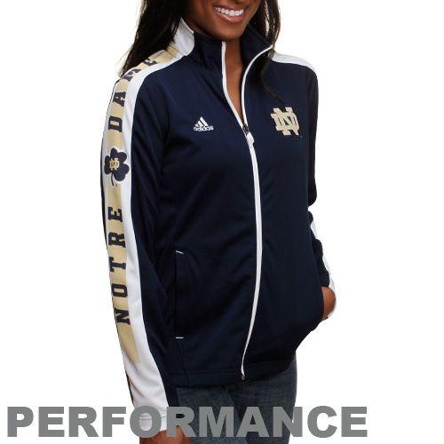 adidas notre dame women's | Notre Dame Irish Jacket : Adidas Notre Dame Fighting Irish Womens ...