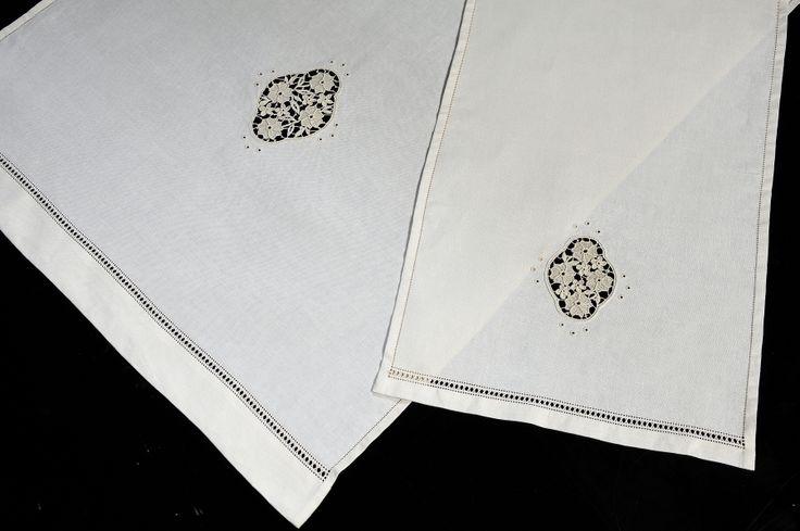 Biancheria   Merletti merletto ad ago Aemilia Ars cuscini porta fedi cuscini porta anelli inserti per abiti da sera e da cerimonia biancheria ricamata