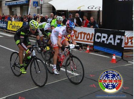 Il Tricolore di ciclismo su strada per i maestri di sci