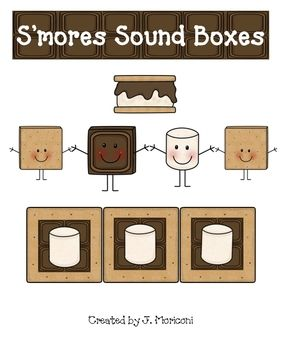 Help your little learners to be able to stretch out words like a gooey s'more and segment the word into phonemes in the cutest way!  www.firstgradegallery.blogspot.com