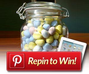 Pinterest Repin to WIN a 3rd generation iPad