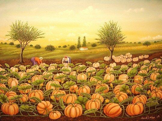Turkey ~ Sema Çulam ~ Pumpkin Farm