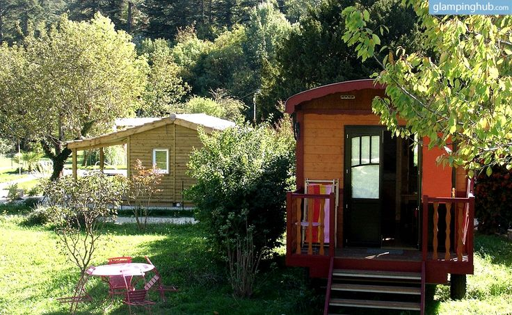 Quirky accommodations in France | Luxury Caravan in Drome