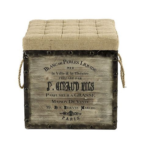 Burlap Seat Storage Ottoman - 11 Best Images About Ballard Designs On Pinterest Toile Bedding