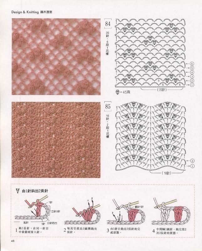 Mejores 138 imágenes de Crochet CHEVRON pattern en Pinterest ...