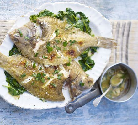 dab fish with lemon and herb mayonnaise from Lover of Creating Flavours!