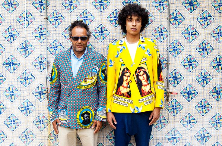 YOU ARE THE STYLE: Amine Bendriouich  Hassan Hajjaj collaboration, Tunis Fashion Week 2013