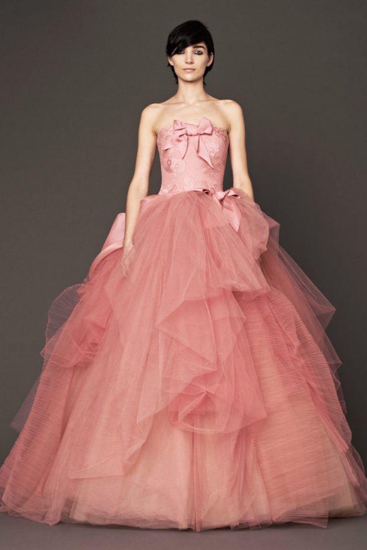 Las mejores 92 imágenes de CHWV ♥ Coloured Wedding Dresses en Pinterest
