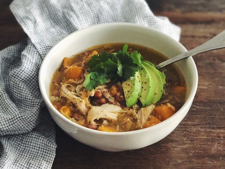 Slow-Cooker Tomatillo Chicken Chili   Memphis food blogger Cara Greenstein shares an easy chili recipe that's ideal for chilly days and football watch parties.