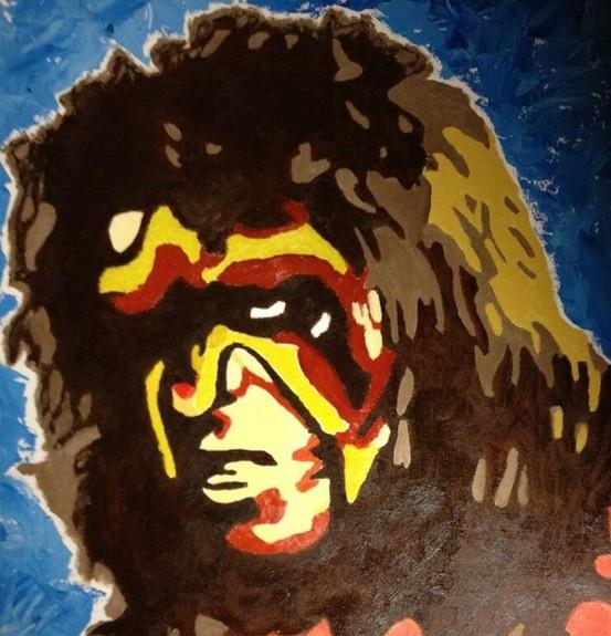 The Ultimate Warrior by Corey Joseph #WWE