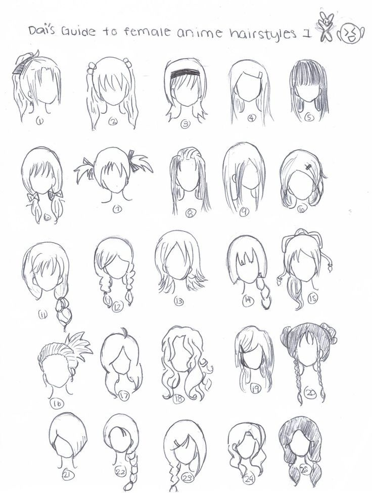 Pin By Yas On Art How To Draw Hair Anime Hair Manga Hair