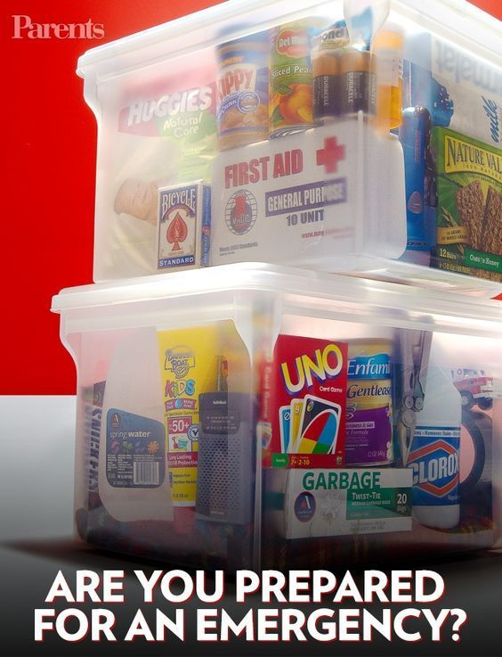 A guide to being prepared if your family faces an emergency.
