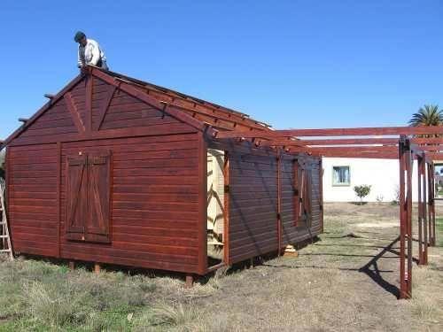 Vendo casas prefabricadas a partir de 33 m2 7900 u s for Vendo casa prefabricada