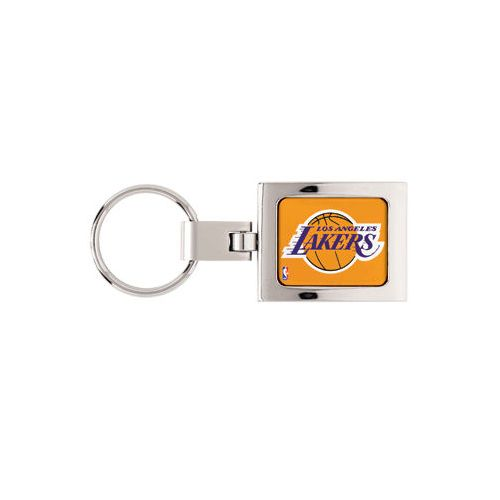 Los Angeles Lakers Domed Metal Keychain