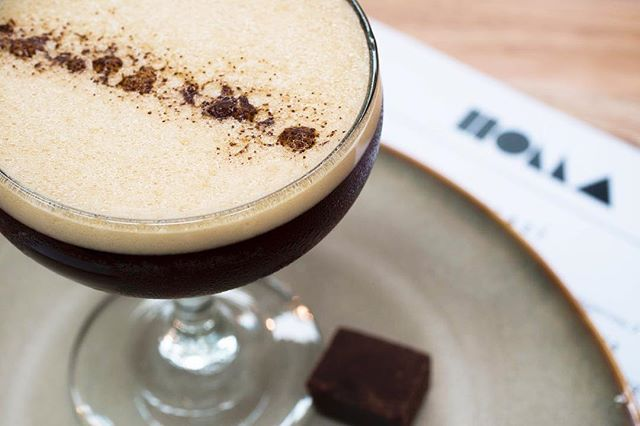 It's cocktail time at HOLLA! // Like espresso martinis? Try our signature 'Fudge Me Now' by cocktail wizard Aaron. #HOLLAMELBOURNE #FudgeMeNow